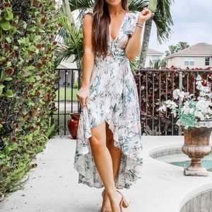 Flowy high-low dress